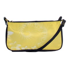 Yellow Abstract Flowers Evening Bag by BestCustomGiftsForYou