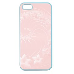 Light Pink Abstract Flowers Apple Seamless Iphone 5 Case (color) by BestCustomGiftsForYou