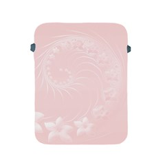 Light Pink Abstract Flowers Apple Ipad 2/3/4 Protective Soft Case by BestCustomGiftsForYou