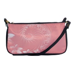 Pink Abstract Flowers Evening Bag by BestCustomGiftsForYou