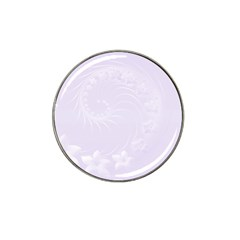 Pastel Violet Abstract Flowers Golf Ball Marker 10 Pack (for Hat Clip) by BestCustomGiftsForYou