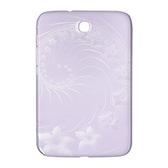 Pastel Violet Abstract Flowers Samsung Galaxy Note 8 0 N5100 Hardshell Case