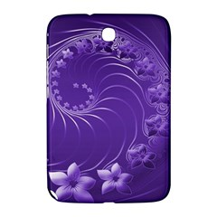 Violet Abstract Flowers Samsung Galaxy Note 8 0 N5100 Hardshell Case