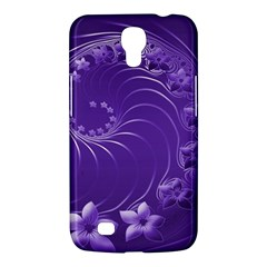 Violet Abstract Flowers Samsung Mega 6 3  I9200 by BestCustomGiftsForYou