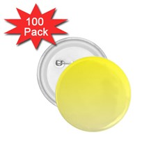 Cadmium Yellow To Cream Gradient 1 75  Button (100 Pack) by BestCustomGiftsForYou