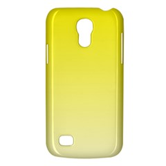 Cadmium Yellow To Cream Gradient Samsung Galaxy S4 Mini Hardshell Case  by BestCustomGiftsForYou