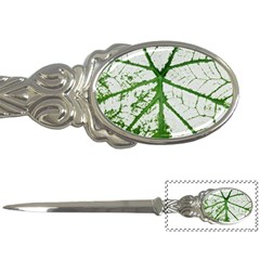 Leaf Patterns Letter Opener by natureinmalaysia