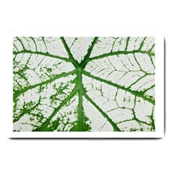 Leaf Patterns Large Door Mat by natureinmalaysia