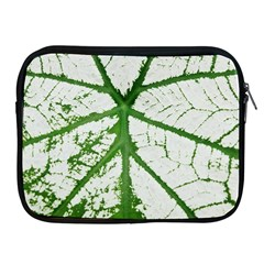 Leaf Patterns Apple Ipad 2/3/4 Zipper Case by natureinmalaysia