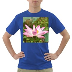A Pink Lotus Mens' T Shirt (colored) by natureinmalaysia