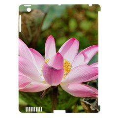 A Pink Lotus Apple Ipad 3/4 Hardshell Case (compatible With Smart Cover) by natureinmalaysia