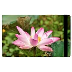 A Pink Lotus Apple Ipad 3/4 Flip Case by natureinmalaysia