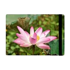 A Pink Lotus Apple Ipad Mini Flip Case by natureinmalaysia