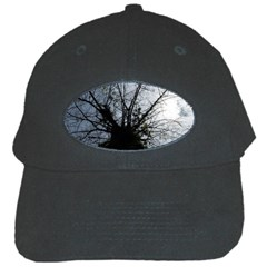 An Old Tree Black Baseball Cap by natureinmalaysia