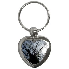 An Old Tree Key Chain (heart) by natureinmalaysia