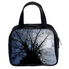 An Old Tree Classic Handbag (two Sides) by natureinmalaysia