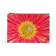 A Red Flower Cosmetic Bag (Large)