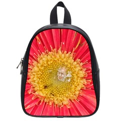 A Red Flower School Bag (small) by natureinmalaysia