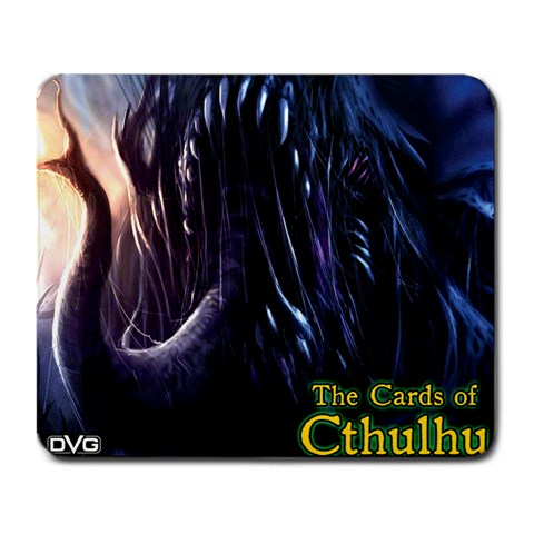 Dvg   The Cards Of Cthulhu   Chaugnar Faugn Cult By Dan Verssen   Large Mousepad   2dd03y82qkmj   Www Artscow Com Front