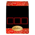 Red Classic Removable Flap Cover (large) - Removable Flap Cover (L)