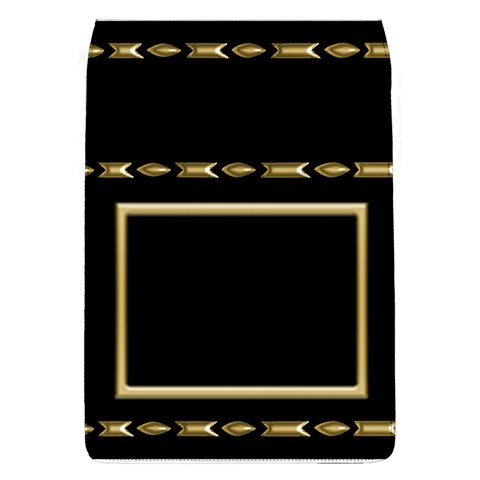 Black And Gold Removable Flap Cover (large) By Deborah   Removable Flap Cover (l)   Vwk0e0f0snnp   Www Artscow Com Front