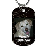 mattietag - Dog Tag (Two Sides)
