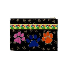 Doggy/kitty Medium Cosmetic Bag By Joy Johns   Cosmetic Bag (medium)   Iwzwfqs0ion1   Www Artscow Com Back