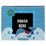 Our Backyard Party XXXL Cosmetic Bag - Cosmetic Bag (XXXL)