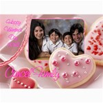 Happy Valentine - 5  x 7  Photo Cards
