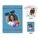 Our Backyard Party Playing Cards 1 - Playing Cards Single Design