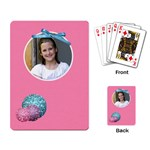 Our Backyard Party Playing Cards 2 - Playing Cards Single Design