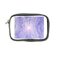 Purple Cubic Typography Coin Purse by TheZiNES