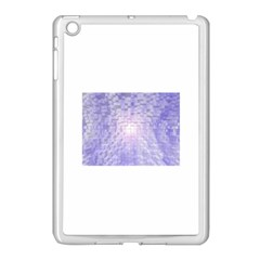 Purple Cubic Typography Apple Ipad Mini Case (white) by TheZiNES
