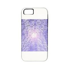 Purple Cubic Typography Apple Iphone 5 Classic Hardshell Case (pc+silicone) by TheZiNES