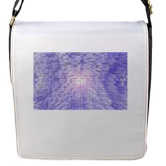 Purple Cubic Typography Removable Flap Cover (small) by TheZiNES