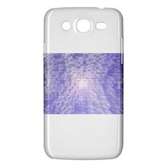 Purple Cubic Typography Samsung Galaxy Mega 5 8 I9152 Hardshell Case  by TheZiNES