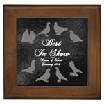 BIS Pigeon Tile - Generic Show - Framed Tile
