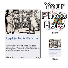 Robin Hood Cards (sheriff Deck) By Mark Johnson   Multi Purpose Cards (rectangle)   Fwupf36hvxqz   Www Artscow Com Front 6