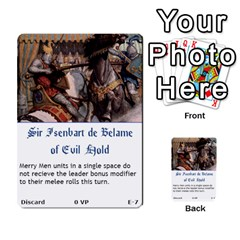 Robin Hood Cards (sheriff Deck) By Mark Johnson   Multi Purpose Cards (rectangle)   Fwupf36hvxqz   Www Artscow Com Front 7