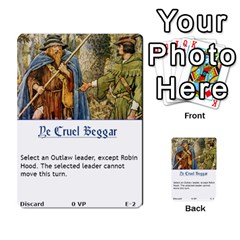 Robin Hood Cards (sheriff Deck) By Mark Johnson   Multi Purpose Cards (rectangle)   Fwupf36hvxqz   Www Artscow Com Front 2
