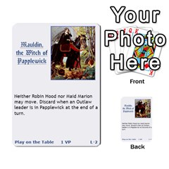 Robin Hood Cards (sheriff Deck) By Mark Johnson   Multi Purpose Cards (rectangle)   Fwupf36hvxqz   Www Artscow Com Front 19