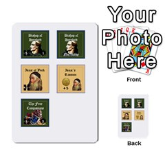 Robin Hood Cards (sheriff Deck) By Mark Johnson   Multi Purpose Cards (rectangle)   Fwupf36hvxqz   Www Artscow Com Front 39
