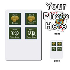 Robin Hood Cards (sheriff Deck) By Mark Johnson   Multi Purpose Cards (rectangle)   Fwupf36hvxqz   Www Artscow Com Front 41