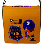 Halloween small flap closure messenger bag - Flap Closure Messenger Bag (S)