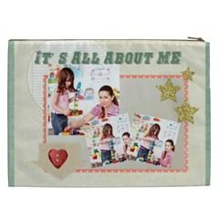 Kids By Kids   Cosmetic Bag (xxl)   Ch6bg01bwnrn   Www Artscow Com Back