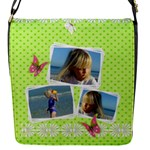 Princess Flap Closure Messenger Bag (Small) - Flap Closure Messenger Bag (S)
