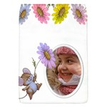 Little Flower Removable Flap Cover (small) - Removable Flap Cover (S)