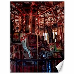 ride the carousel Canvas 36  x 48  (Unframed) by designsbyvee