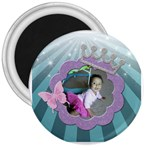 princess magnet 3 in - 3  Magnet
