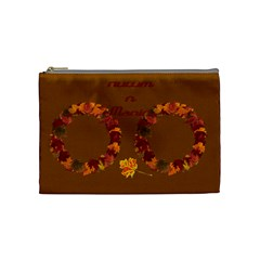 Autumn Magic Medium Cosmetic Bag By Joy Johns   Cosmetic Bag (medium)   1bux3m5m0gxn   Www Artscow Com Front